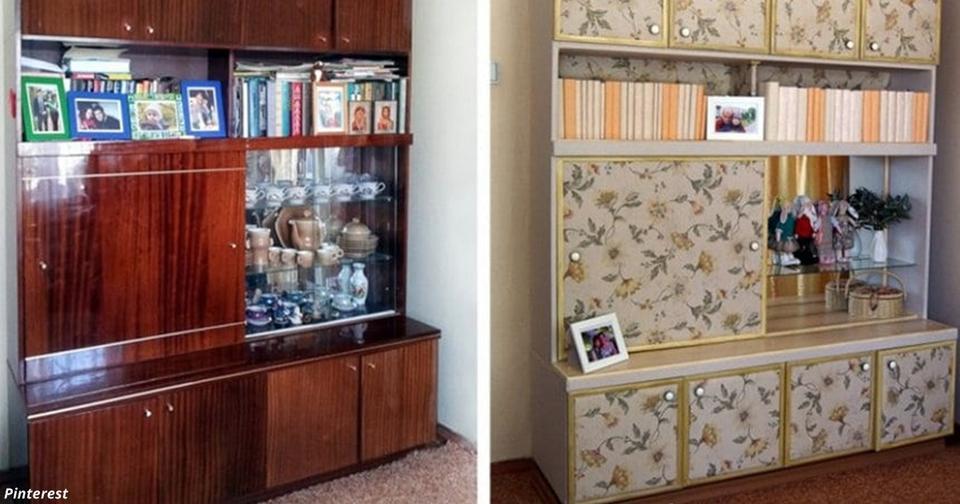 Не давайте детям её выбросить: Вот что можно сделать со старой советской мебелью Дизайнерский интерьер своими руками.