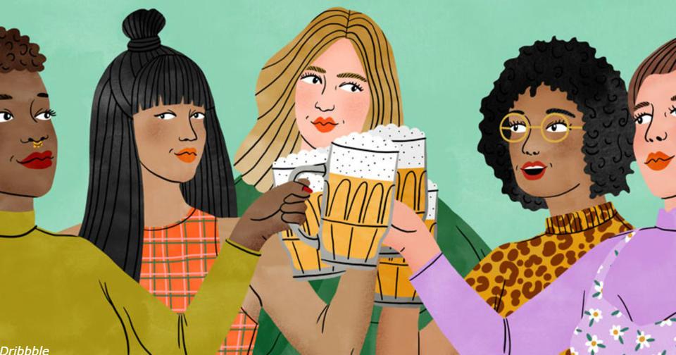 Чем больше пива вы пьете, тем более вы верны. Вот почему! Это ж надо!