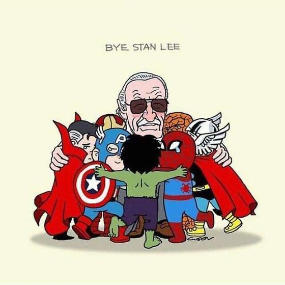 25 раз, когда кто-то провел Стэна Ли так, что заплачете даже вы Трогательно и талантливо.