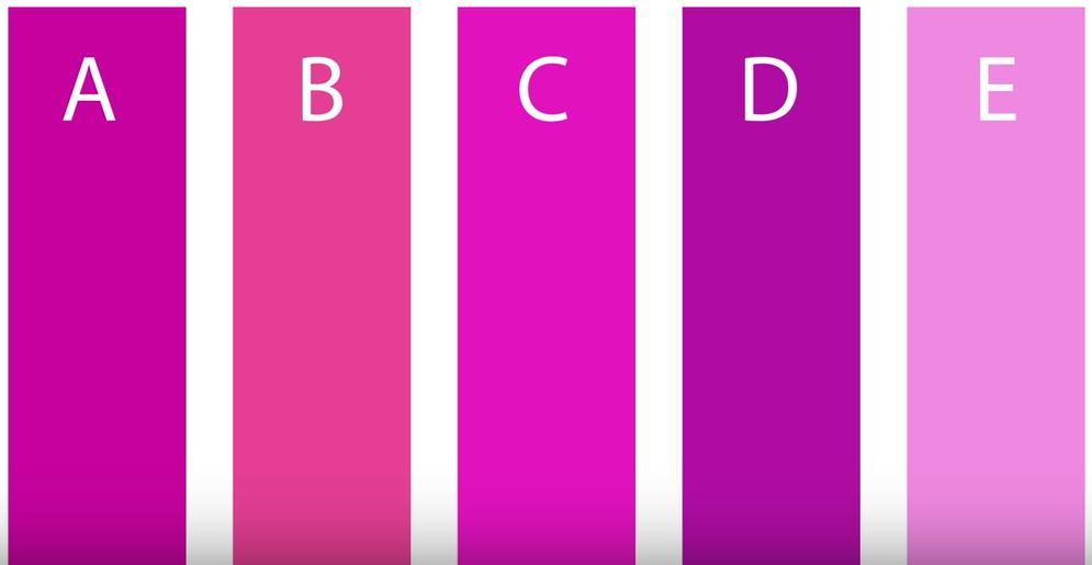 Вот тест на цвета, который покажет ваш психологический возраст Психология в цвете.