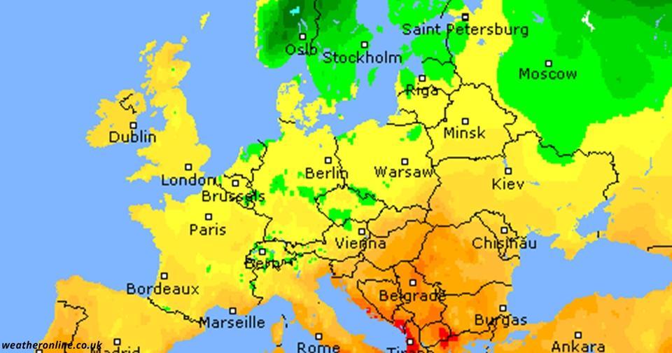 Вот какая погода ждёт Европу в ноябре Всё не так плохо.
