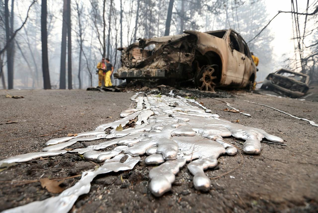 Image result for camp fire death toll