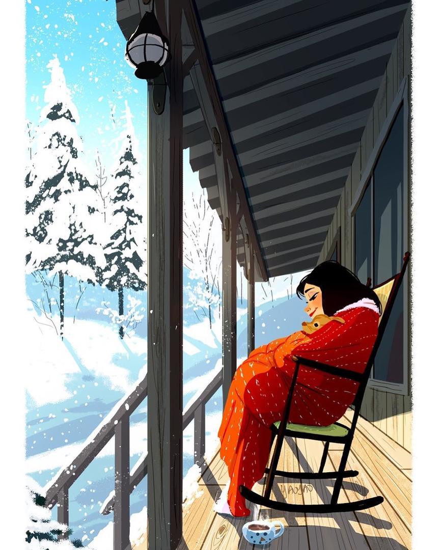 15 картинок от японки, которая не понимает, почему так ненавидят зиму Она ведь прекрасна!