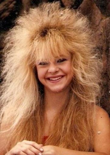 Когда лак для волос только появился: забытые прически 80-х Безумные начесы и много лака!