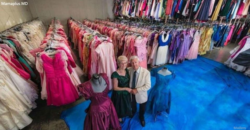За 56 лет брака он купил жене 55 000 платьев. Мужик! Столько даже у диснеевских принцесс нет!