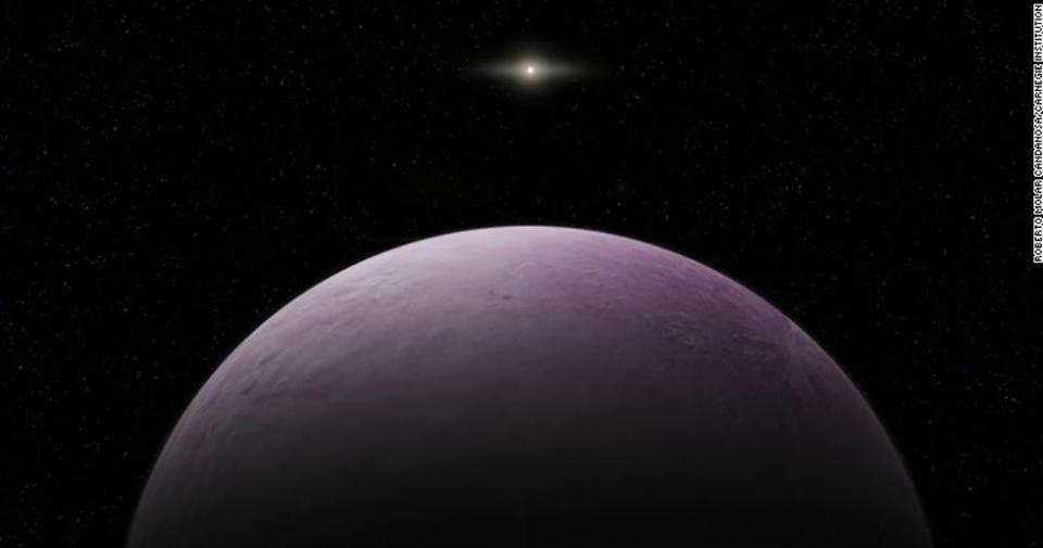 В Солнечной системе нашли еще одну планету   правда, карликовую Поиски планеты Х продолжаются...