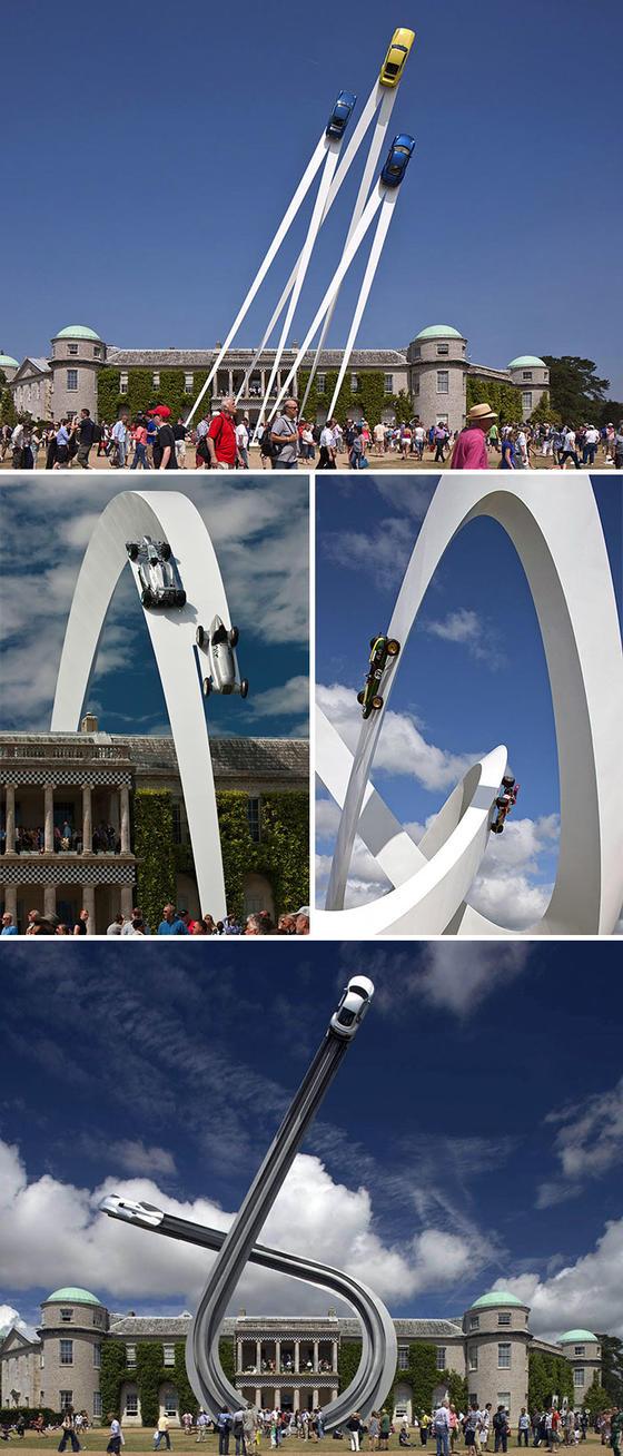 23 уличные скульптуры, которые бросили вызов гравитации - и победили её Просто глазам не верится!