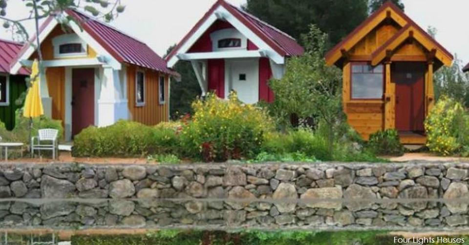 Эти крошечные дома строят, чтобы спасти бездомных ветеранов Все правильно!