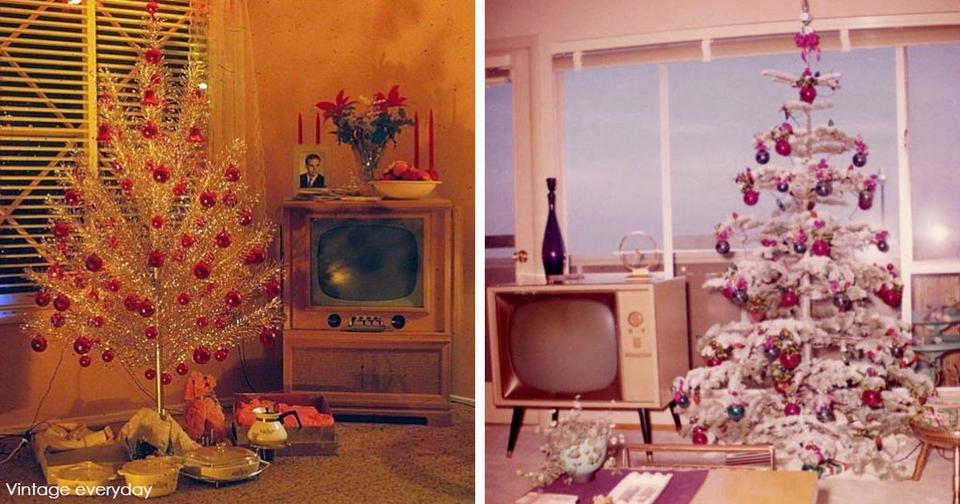 33 фото новогоднего декора 50 х   о том, как много всего изменилось с тех пор Винтаж витает в воздухе!