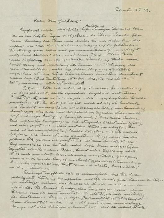Письмо Эйнштейна, в котором он рассуждает о Боге, продали за USD3 млн Ну ничего себе!