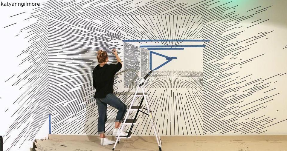 Художница создает иллюзии с помощью карандаша и простых линий. Не верится, да? Захватывающе!