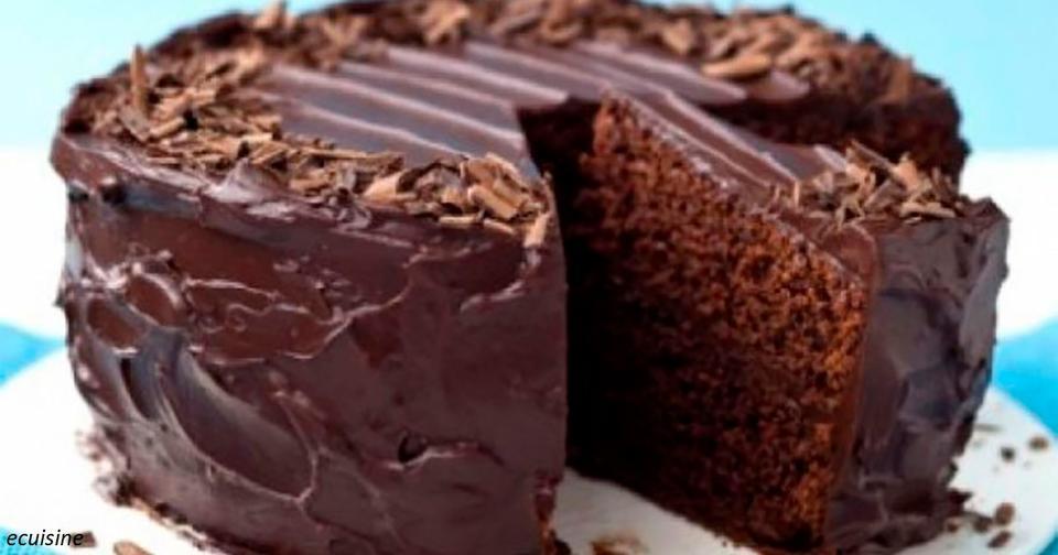 Вкуснющий влажный шоколадный торт, в котором нет ни одного яйца Минимум усилий   максимум вкуса!