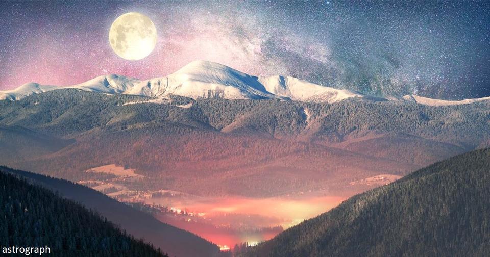 Редкая пара: полнолуние в декабре совпадет с зимним солнцестоянием Вот что это значит!