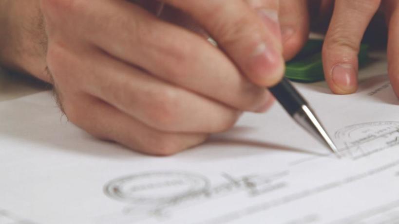 Что такое факсимиле? На каких документах можно ставить факсимильную подпись?