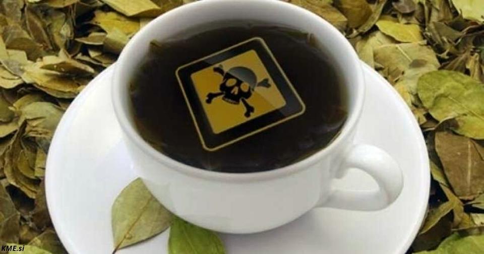 В магазины попал китайский чай, который - уже известно - вызывает рак! Предупредите близких Запомните эту коробку!