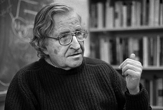 Ноам Хомский: «Мы мчимся к пропасти и полны решимости в нее рухнуть»