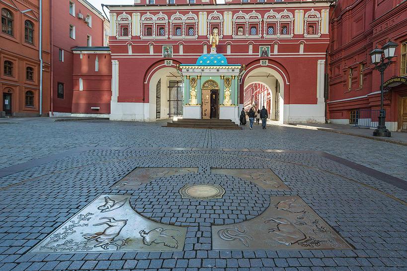 Нулевой километр Москвы - начальная точка столицы