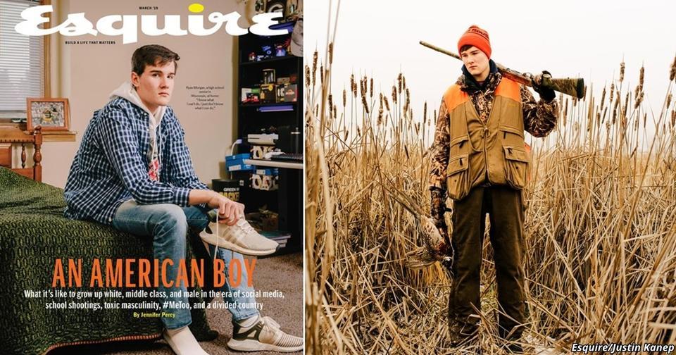 Esquire описал жизнь обычного белого подростка в США. Поднялся такой скандал!..