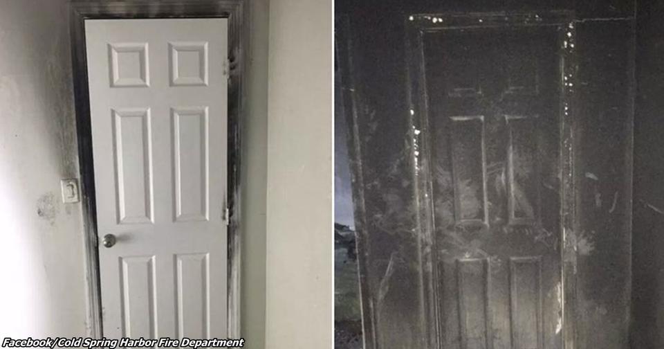 Почему нельзя оставлять приоткрытой дверь спальни ребёнка, рассказал пожарный