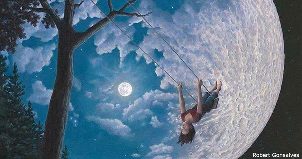 25 картин Роба Гонсалвеса о том, что жизнь - это чудо, если смотреть на нее под нужным углом