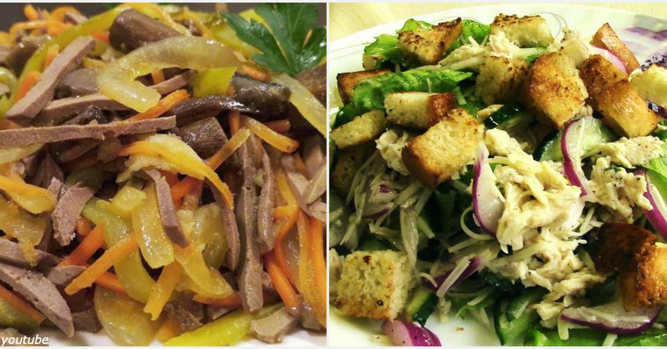 7 вкуснющих салатов, в которых нет ни капли жира, ни майонеза
