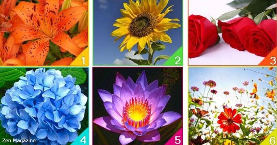 Какой цветок отражает силу вашего духа?