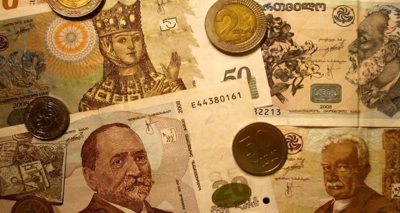 Какая валюта в Грузии, курс к рублю и доллару