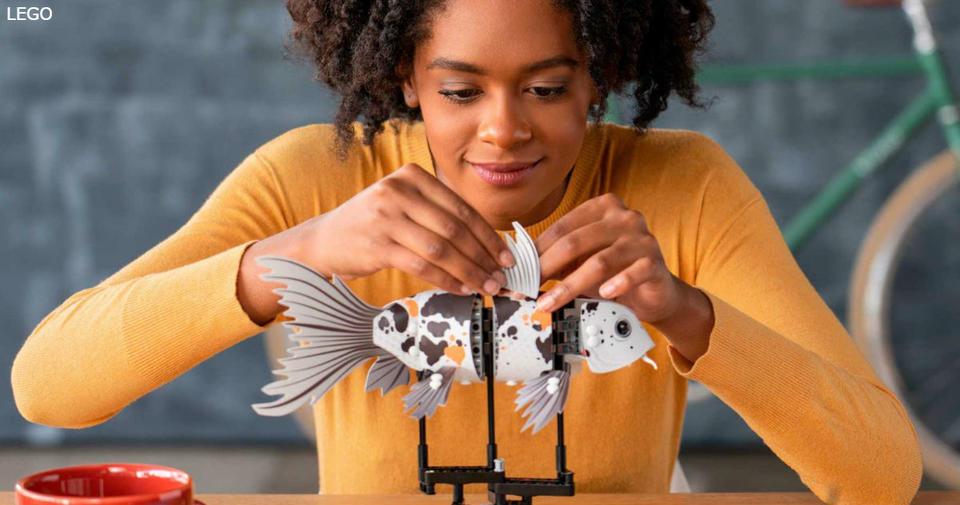 LEGO выпустила набор для взрослых: снимает тревожность, поднимает настрой
