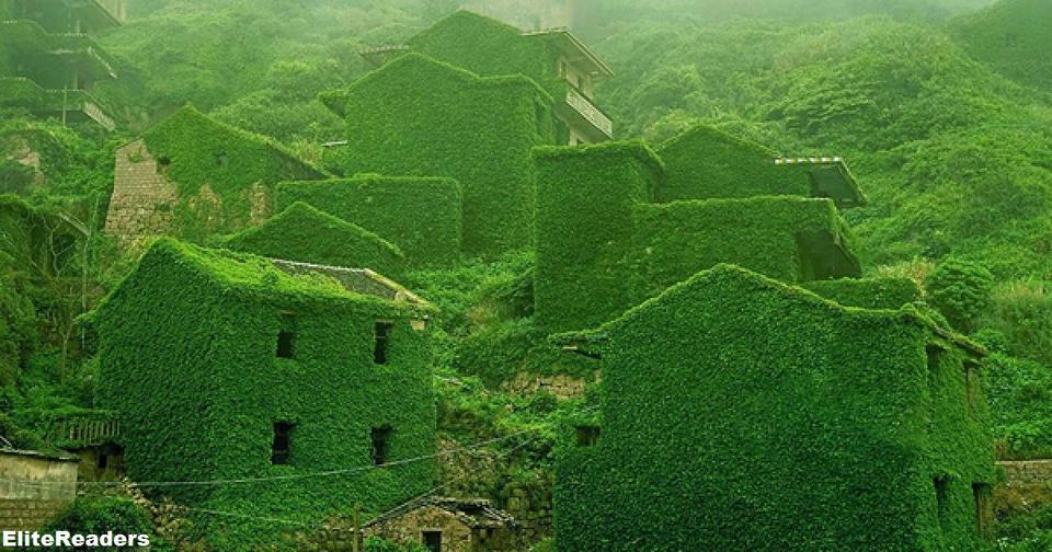 Вот во что превратилась покинутая деревушка в Китае