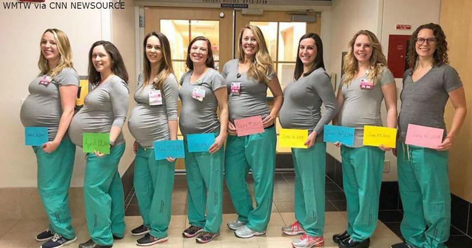 9 медсестер в одинаковом положении вынуждены работать на одной смене