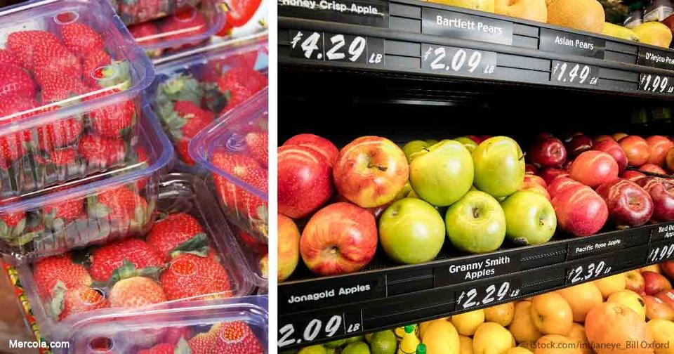 12 фруктов и овощей, в которых врачи нашли больше всего пестицидов