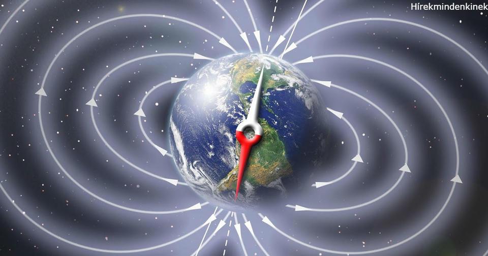 Image result for фото магнитное поле земли
