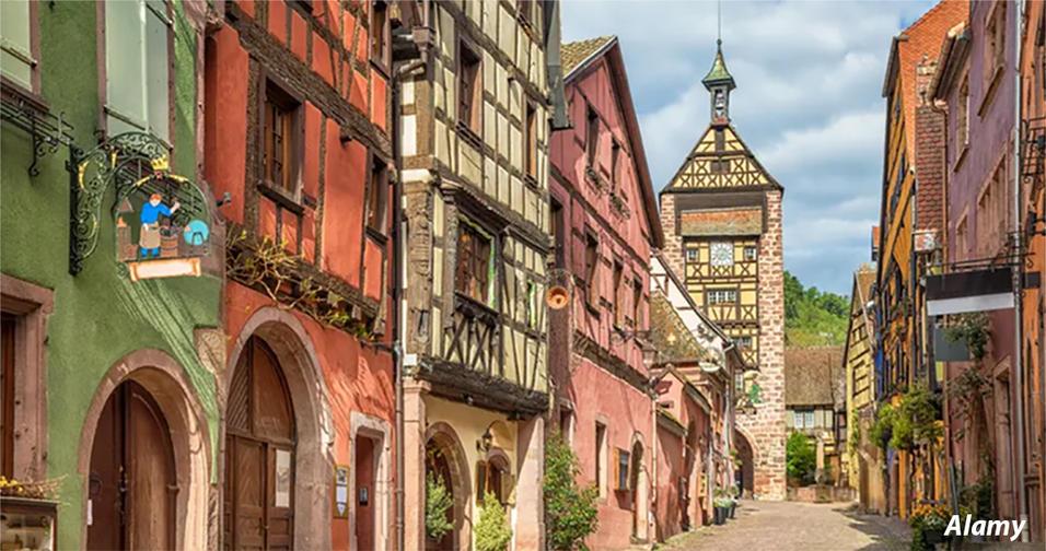 20 самых красивых деревень, которые можно найти во Франции