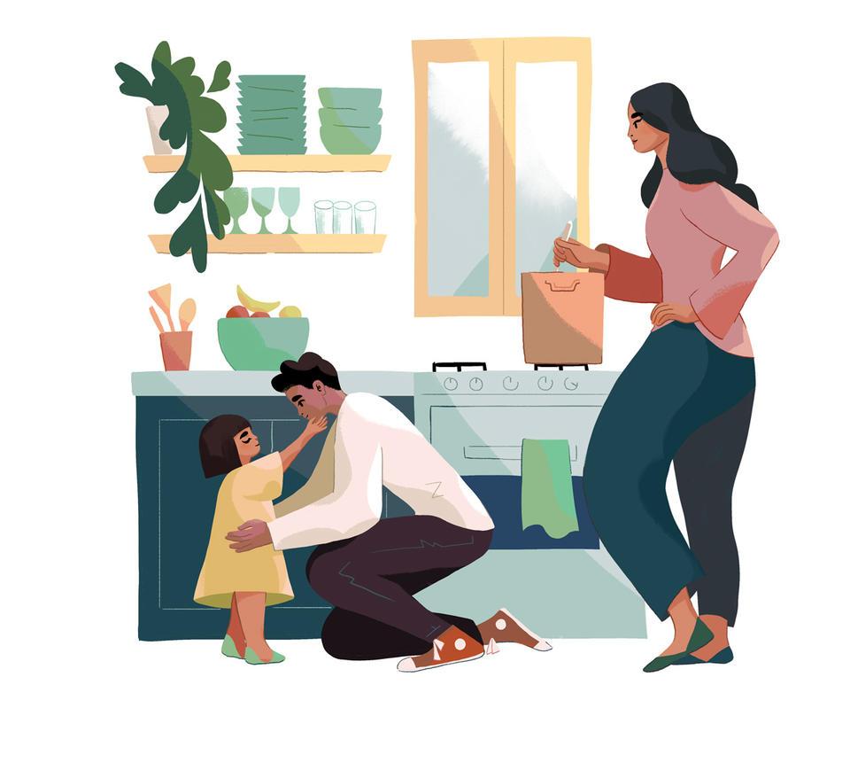 6 вещей, которые нельзя делать на глазах у своих детей
