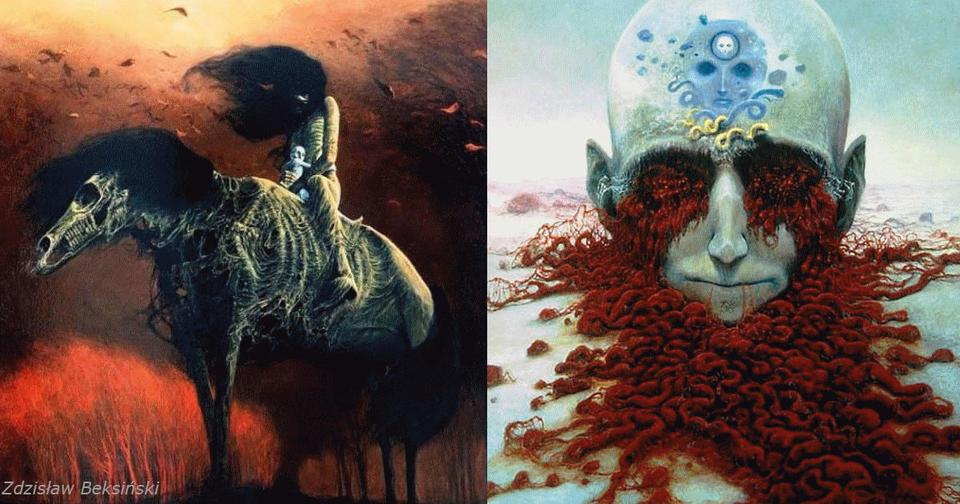 Польский художник выяснил секрет ″фотографирования снов″. Его работы пробирают до костей