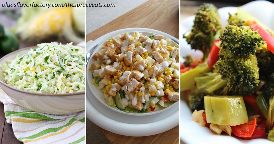 3 салата, которые можно есть даже перед сном: в них почти нет калорий