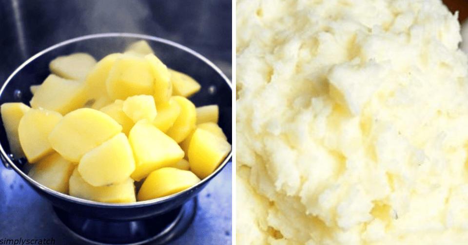 Гениальный секрет лучшего картофельного пюре в вашей жизни