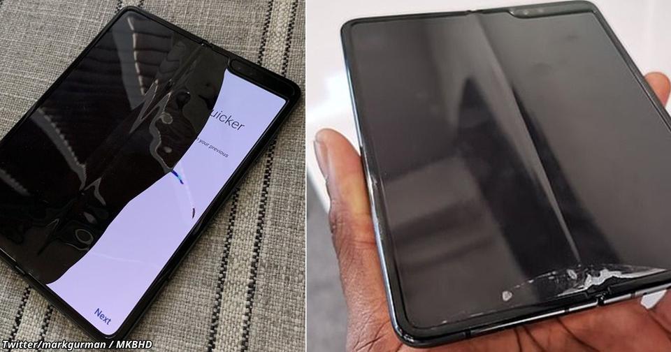 Смартфоны раскладушки от Samsung ломаются на второй день, говорят покупатели
