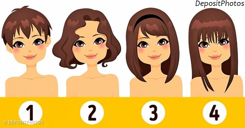 Выберите свою длину волос   и мы расскажем о вашей личности