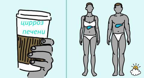 Вот что могут сделать с вашим телом 3 чашки кофе в день
