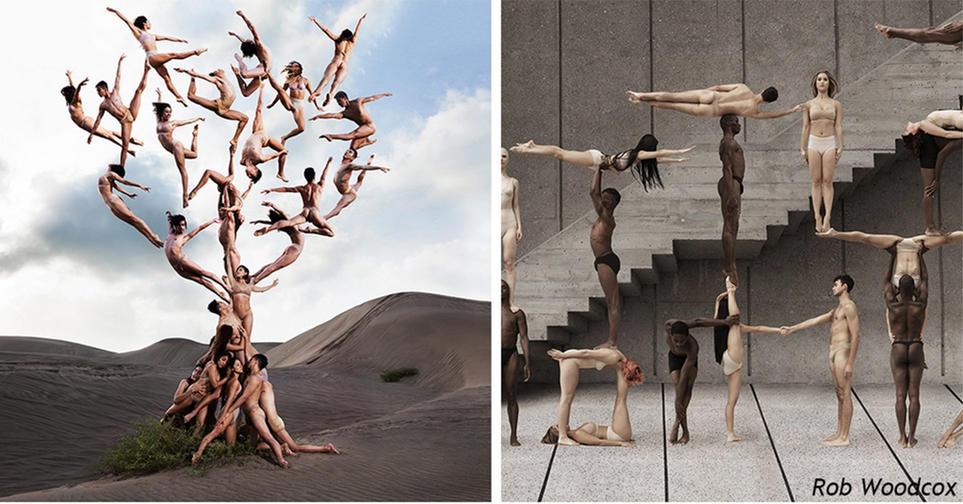 13 сюррелистических фото танцоров, на которых не действует закон всемирного тяготения