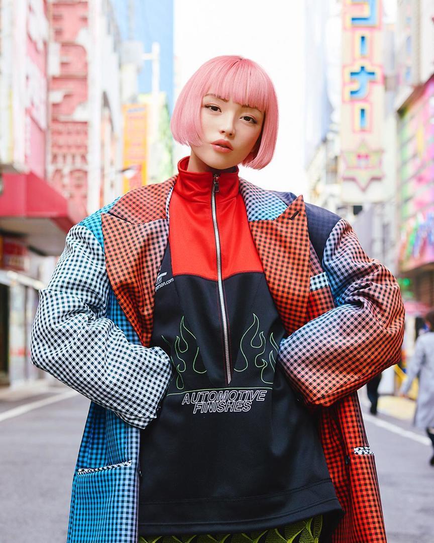 Имма — японская виртуальная модель, которую сложно отличить от реального человека