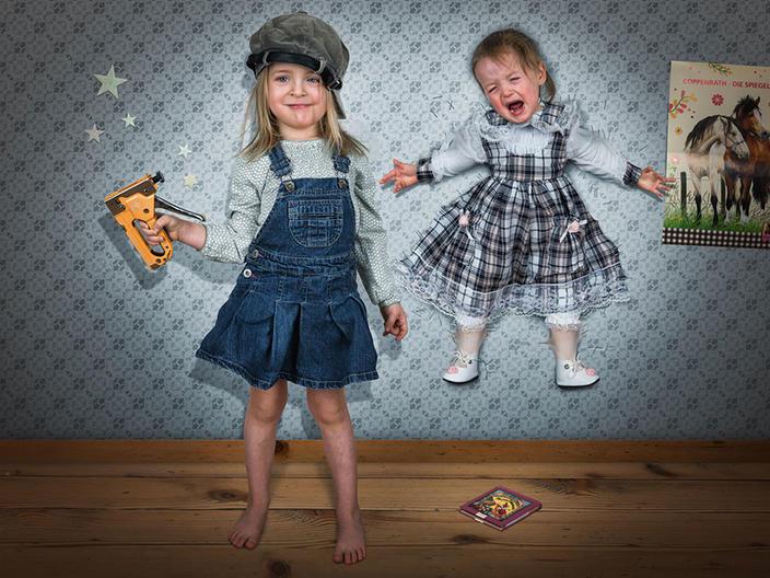 Креативный отец создает потрясающие фотографии своих трех дочек