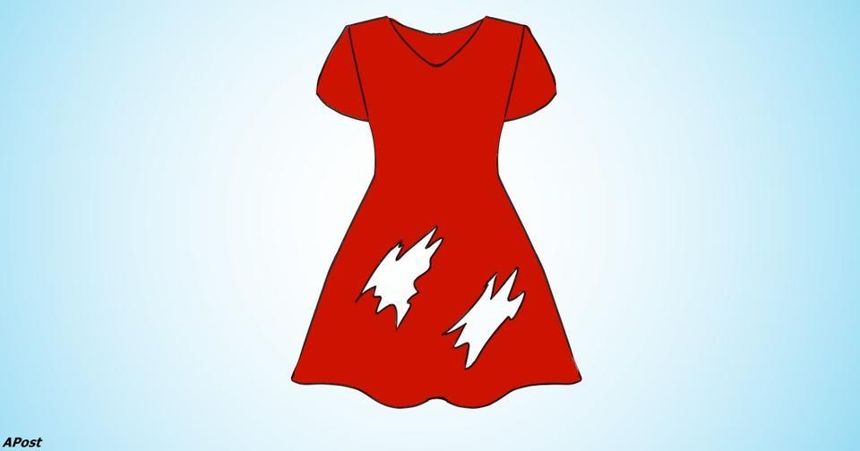 Простой тест на смекалку: Сколько дырок в этом платье?