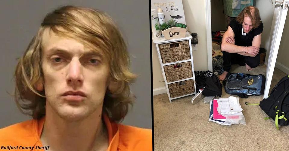 Студентка нашла в шкафу незнакомого мужчину, который жил там несколько дней