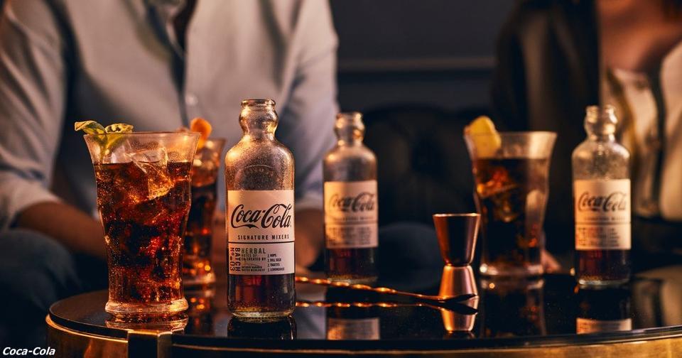 Coca Cola выпустила газировку, которая идеально подходит к виски и рому