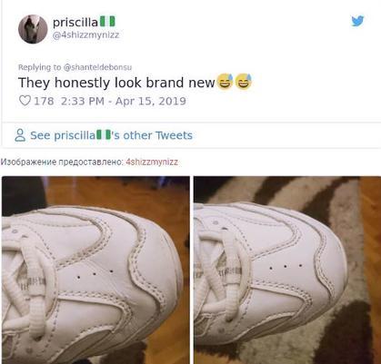 Девушка показала гениальный способ сделать свою обувь ″как новой″