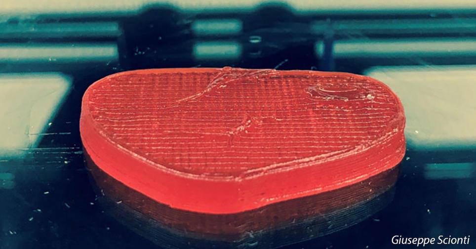 В Италии создали 3D принтер для печати веганских стейков