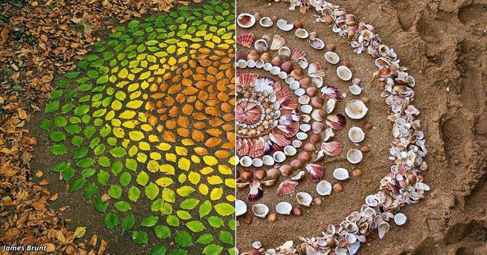 Художник создаёт шедевры из всего, что — в буквальном смысле — валяется у нас под ногами
