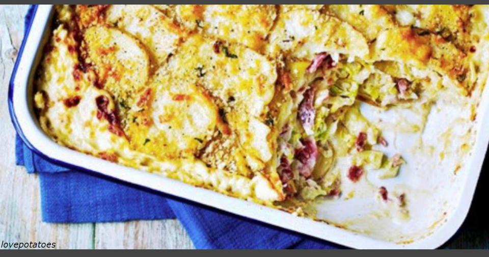 3 лучших блюда из молодого картофеля. Побалуйте себя вечером